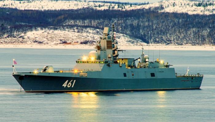 Фрегат «Адмирал Касатонов»