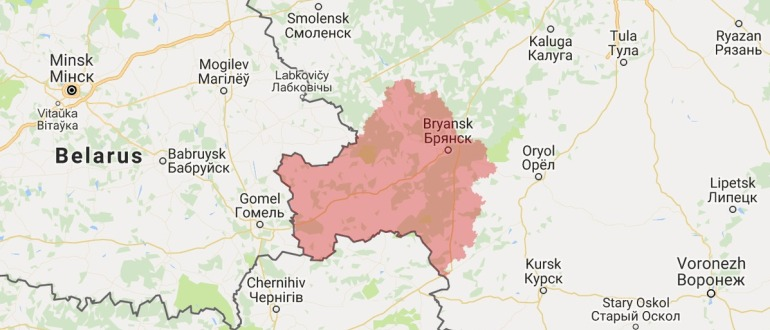 Воинские части в Брянске