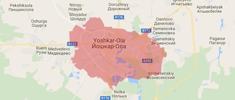 Воинские части в Йошкар-Оле
