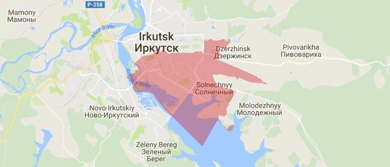 Воинские части в Иркутске