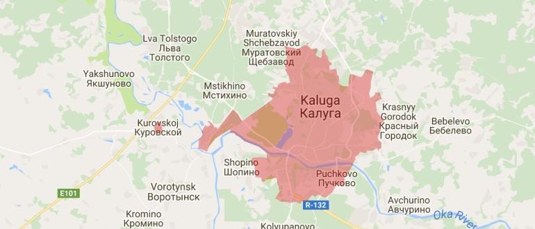Воинские части в Калуге