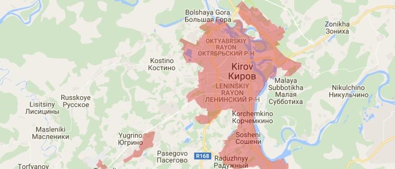 Воинские части в Кирове