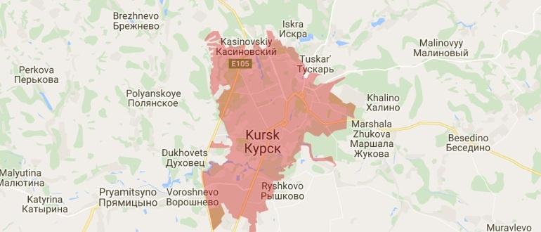 Воинские части в Курске