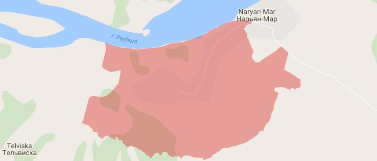 Воинские части в Нарьян-Маре