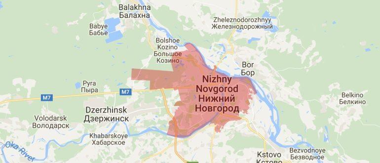 Воинские части в Нижнем Новгороде