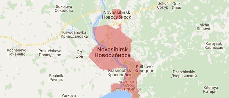 Воинские части в Новосибирске
