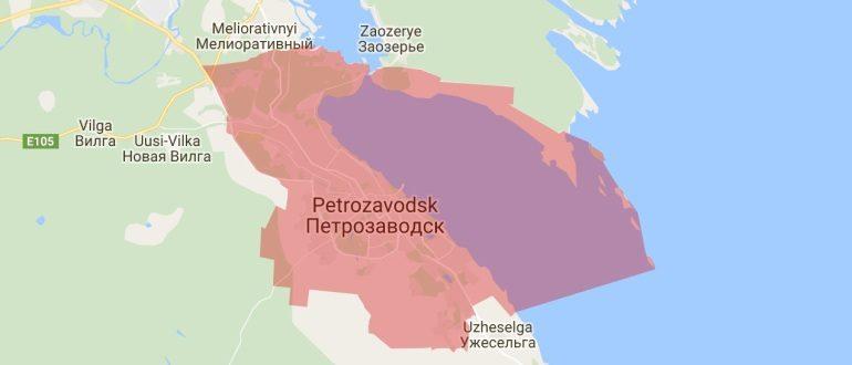 Воинские части в Петрозаводске