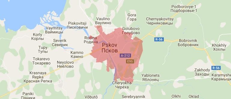 Воинские части в Пскове