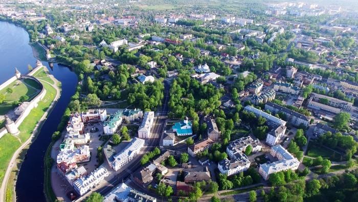 Вид центра города