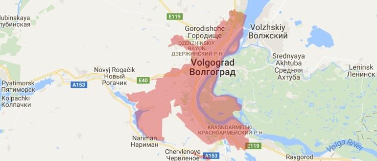 Воинские части в Волгограде