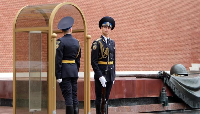 Смена караула в Кремле
