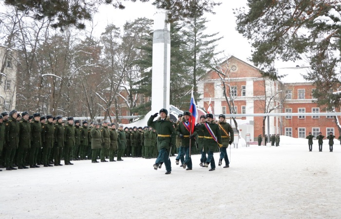 Вынесение боевого знамени