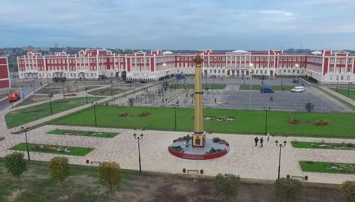 Территория училища