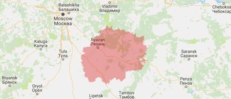 Воинские части в Рязани