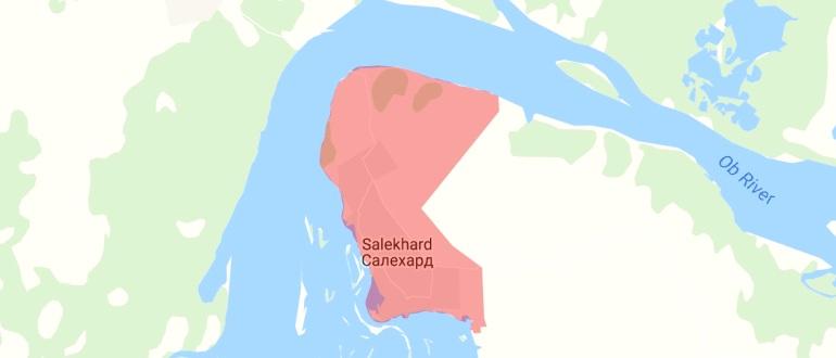 Воинские части в Салехарде