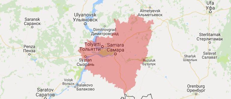 Воинские части в Самаре