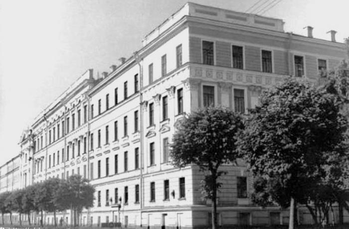 Училище в 70-е годы