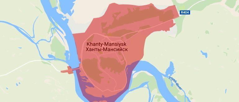 Воинские части в Ханты-Максийске