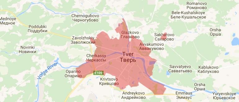 Воинские части в Твери