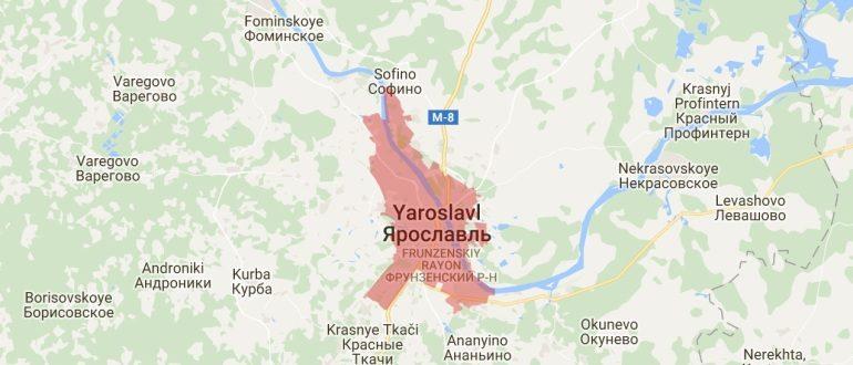 Воинские части в Ярославле